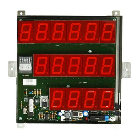 Red LED Display